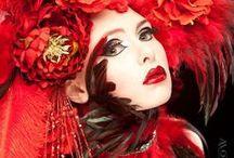 Fashion - black, white & red / by Xueling Zou