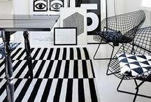 Interior Design - black & white / by Xueling Zou