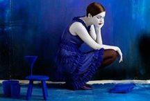 Fashion - blue & white or indigo / by Xueling Zou