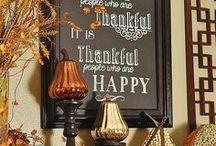 Thanksgiving / by Melissa Lambert