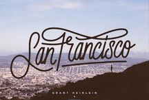 City: San Francisco / golden gate bridge | painted ladies | full house / by Kelly Kilger