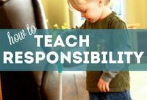 Kiddos Responsibility Activities / by Victoria Sanders