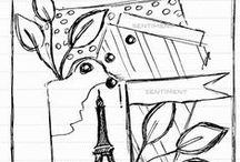 sketches I love / by Amy Tsuruta
