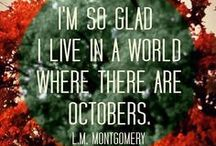 """Life starts all over in the FALL. / """"Life starts all over again when it gets crisp in the fall."""" --F. Scott Fitzgerald, The Great Gatsby.   Leaves, colors, wind...The board for all things Autumn including my favorite...HALLOWEEN!  / by Kirstie Smith"""