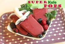 Popsicles, Sorbets, and Frozen Treats / by Super Healthy Kids