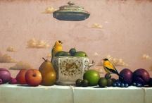 Art, painting, stil life 2 / by Niloofar Hedayat