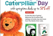 Very Hungry Caterpillar Day Celebrations / by The World of Eric Carle