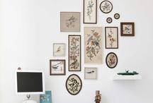 wall / hang it up / by Irina Lesch