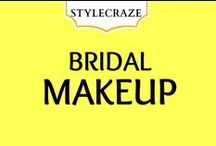 "Bridal Makeup / Everything you need to know about Bridal makeup under one ""Board"" / by StyleCraze"