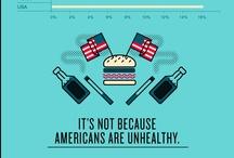 Health infographic / Infografía médica / by M Angeles