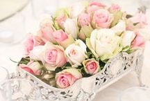 Wedding Centerpieces. Events / Elegant and chic events. Wedding. Party / by Andrea Cabrera