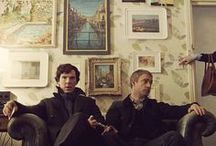 Sherlock & Hemingway / by Rebecca Rebouche