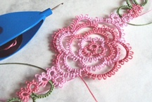 Tatania Rosa Projects / Tatting lace projects, sneak peeks and more for my online business: Tatania Rosa / by Tatania Rosa