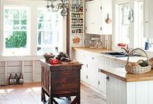 AT HOME - KITCHENS / Kitchens inspirations from classic to modern! # kitchens ♥♥♥The Daily Basics.com ♥♥♥ / by TheDailyBasics