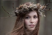 Floral Crowns / by Green Wedding Ideas by Green Bride Guide / Kate