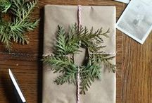 CHRISTMAS & HOLIDAY GIFT WRAPPING! / Inspirations on making your gifts look beautiful this Holiday season!  If you want an invitation to pin, email whoswho@thedailybasics.com!  We'd love to have you join in the spirit of the holiday fun! No naughty pins allowed. #holiday #gift #giftwrapping #christmas / by TheDailyBasics