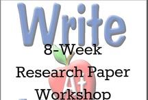 Reseach Paper Writing / by Brian Wasko, WriteAtHome.com