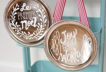 Deckin' them halls / All trimmings for a festive home! / by Carrie Ross