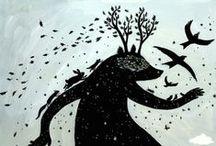 Fairy tale & Myths. / Fantasy tales & legendary characters.  / by Diego M Bucio