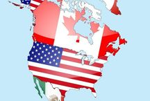 Wanderlust: North America / Canada and the United States also Mexico and Greenland  / by Kat Eyking