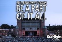 2013 Broadway Season / by Starlight Theatre