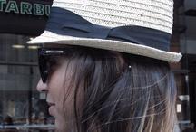 Collegefashionista: Hats On / by Manuela Almeida