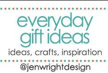 Gift Ideas / Sharing ideas, crafts & inspiration for everyday gifts to inspire memory making for future scrapbooking layouts.- www.jenwright.net / by Jen Wright