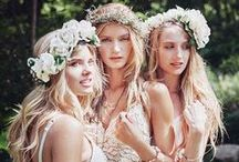 Bohemian Bride / Flirty, romantic, feminine. A relaxed, flowy occassion accessorized with natural accents.  / by Beau-coup