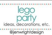 Lego Party Ideas / Sharing ideas, decorations & more for lego party to inspire memory making for future scrapbooking layouts.- www.jenwright.net / by Jen Wright