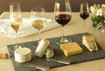 Wine & Cheese, Please! / Wine and cheese party inspiration  / by Beau-coup