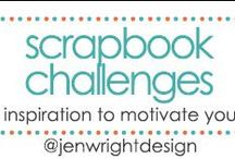 Scrapbook Challenges / current scrapbooking challenges hosted by jen wright designs to motivate and inspire you. / by Jen Wright
