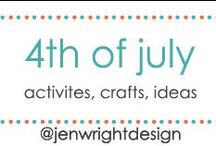 4th of July / Sharing ideas, crafts & activities for 4th of July to inspire memory making for future scrapbooking layouts.- www.jenwright.net / by Jen Wright