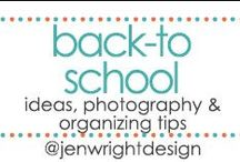 Back-to-School / Jen Wright Designs is sharing ideas, inspiration and tips to help you celebrate the everyday and document it with scrapbooking. www.jenwright.net / by Jen Wright