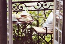 Small Balcony Inspiration  / by Molli Thomason