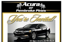 Model Party / by Acura of Pembroke Pines