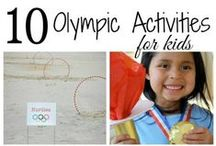 Olympic Family Fun / Activities for families to enjoy during the winter Olympics #olympics  / by Monroe Carell Jr. Children's Hospital at Vanderbilt
