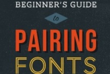 Fonts & Typography / by Rhonda Brown
