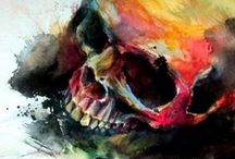 Skulls / by Hennie Bouwe