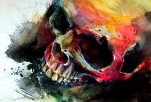 Skulls / by Hennie Bouwe