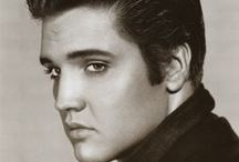 ELVIS PRESLEY LOVE / Love him or hate him...I don't care what anyone thinks.  Elvis Presley WAS the King of Rock & Roll!  He had an awesome voice, was one of the greatest entertainers ever, had a big heart, and was drop dead gorgeous! / by Roxanne O