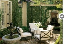 Porches & Outdoor Spaces / Porch,  patio, veranda, lanai, piazza / by Debbie Hodge
