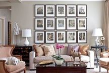 Off The Wall :  Photo/display/etc wall ideas. / Ideas for creating picture galleries and other displays for my many blank staircase, hallway, room walls! Photo/display/etc wall ideas. / by Rachel S.