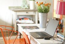 Work/Craft Spaces / by Lisa Zahn |Coaching for Clarity and Joy