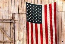 """I Pledge Allegiance  / """"Loyalty to country ALWAYS. Loyalty to government, when it deserves it.""""  ― Mark Twain / by Lilacs & Gin"""
