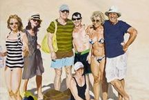 Summertime / Hot weather, cool costumes, dry deserts, warm beaches, and golden sunshine.  / by LACMA