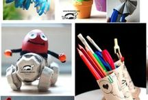 education / kids craft for school, experiments, education game, fine motor skils / by Кrокотак
