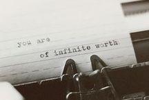 Mostly thoughtful words / by Jessica Karaffa