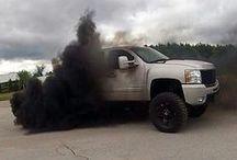 diesel trucks drive me nuts! / by Mikala McCoy