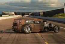 Rat Rods / Rat rods are like unfinished replicas of hot rods from the 1940's. 1950's and 1960's.  / by Woods Cycle Country