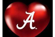 Alabama ROLL TIDE! / by Kitty ^.''.^